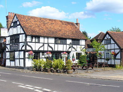 An image of the Grantley Arms pub in Wonersh, where Lingard Jones provides Handyman Services