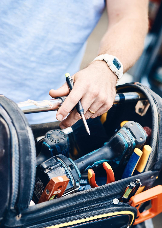 Handyman's tool bag